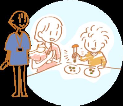発達障害の作業療法イメージ